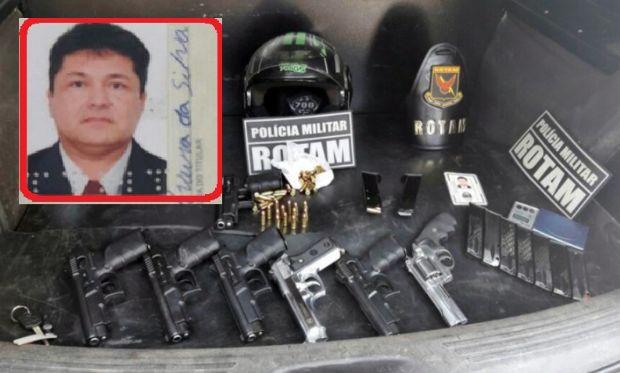 Assaltante de banco é morto a tiros durante confronto com a Rotam; armas israelenses encontradas