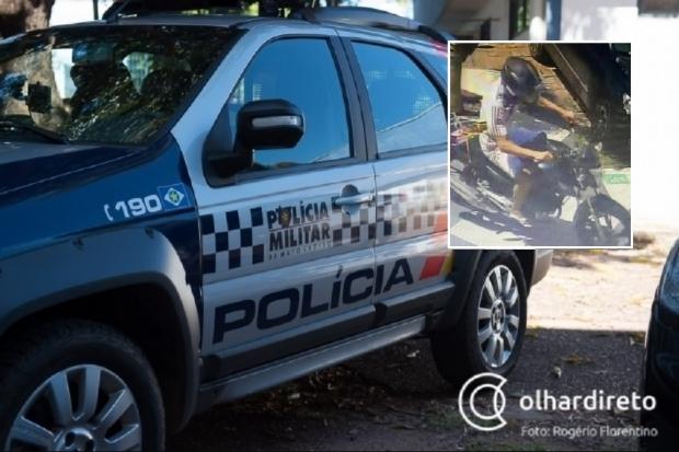 Homem é preso poucas horas após roubar farmácia e restaurante na Avenida do CPA; veja fotos