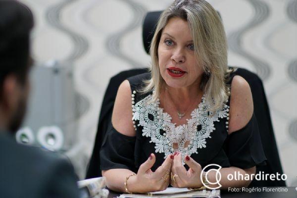 Selma Arruda é exemplo de juíza aposentada bem sucedida na política