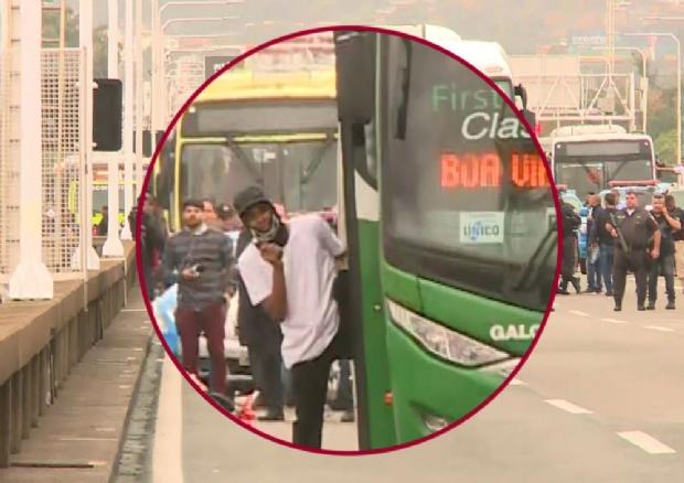 Sequestrador de ônibus é morto por atirador de elite após fazer 37 reféns;  vídeo