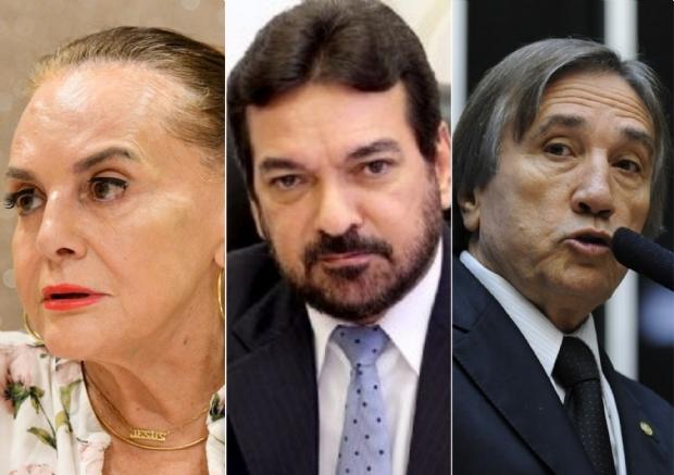 Ex-senadora, vice-governador e deputados não conseguem retomar carreira política