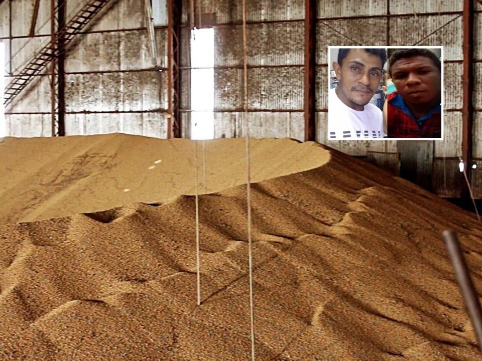 Dois trabalhadores morrem soterrados ao tentar salvar amigo que caiu em silo de grãos