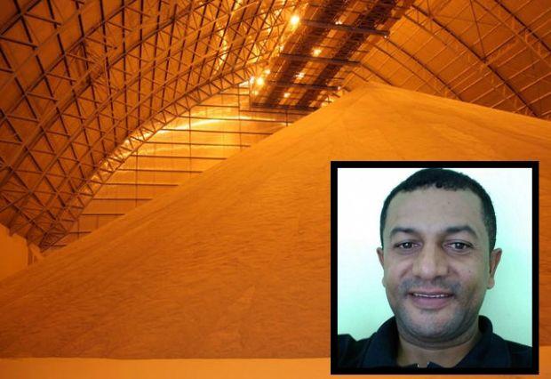 Trabalhador morre soterrado por grãos de soja em armazém de cidade de MT