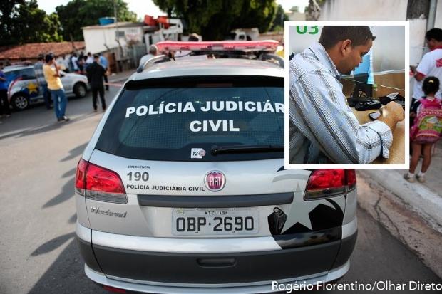 Polícia Civil divulga foto de estelionatário que aplica golpe do envelope vazio