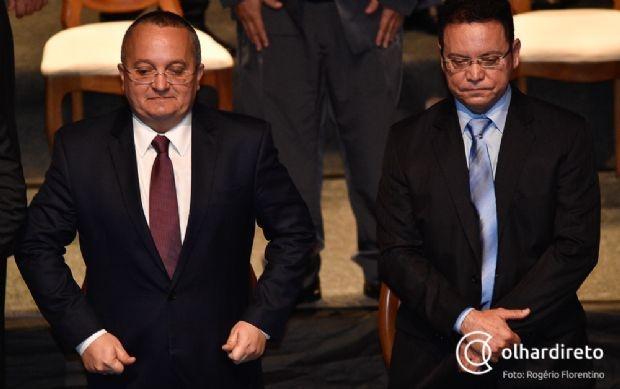 Taques e Botelho se reuniram na tarde desta quarta-feira (17)