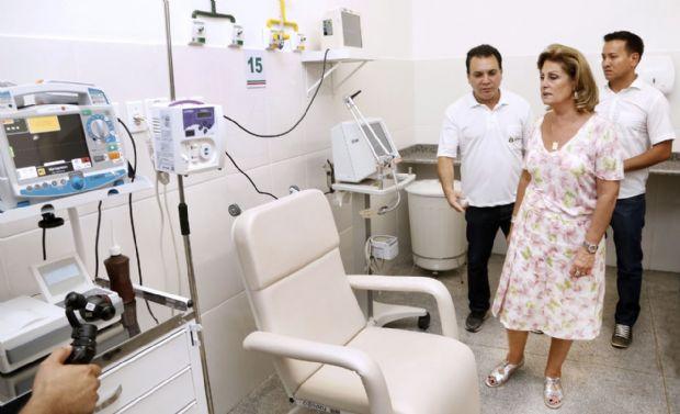 VG terá 20 novos leitos de UTI e Lucimar autoriza início de trabalhos para nova maternidade