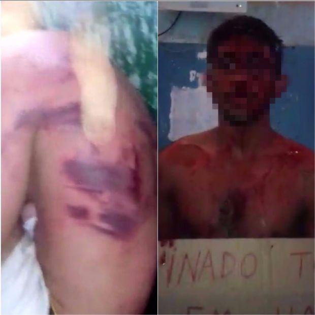 Vídeos mostram torturas dentro de presídio em MT e presos voltam a fazer selfies;  veja