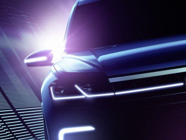 Conceito aponta para o futuro do Volkswagen Touareg