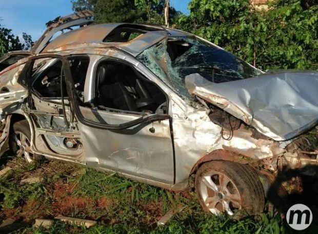 Traficante que traria 758 kg de maconha para Cuiabá morre após carro capotar durante perseguição da PRF