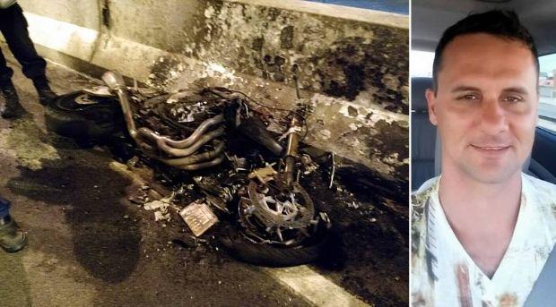 Piloto de MT morre depois de explosão de motocicleta em Santa Catarina