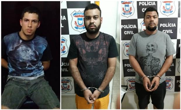 Três são presos por suspeita de tentar furtar Banco do Brasil