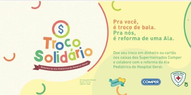 HG participa da campanha do troco solidário para reforma de ala pediátrica