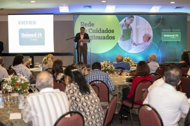 Unimed Cuiabá promove curso sobre cuidados paliativos