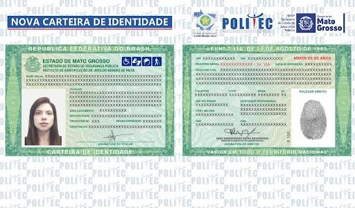 Emissões de cartões de identidade são suspensas em Mato Grosso por falta de insumos