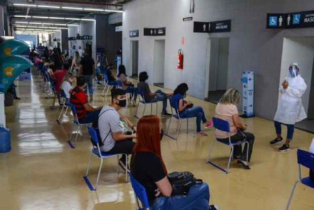 Centro de Triagem funcionará durante todo mês de outubro; 800 atendimentos diários
