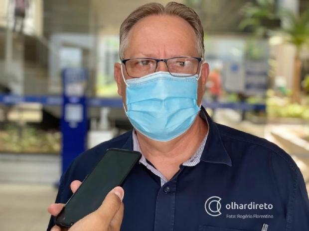 Ministério da Saúde já sinalizou que vai distribuir 45 mil doses de vacina Janssen para Mato Grosso, diz Gilberto Figueiredo