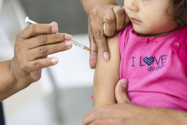 Sem atingir meta de vacinação contra Sarampo e Pólio, 50 cidades terão segundo dia 'D'