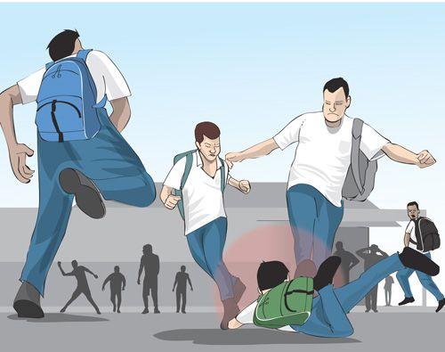 Violência nas escolas aumenta e duas ocorrências de agressão são registradas por dia
