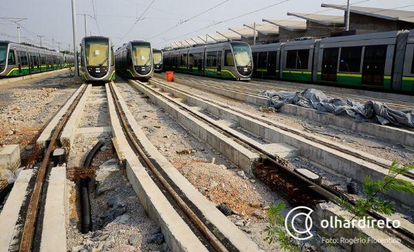 Governador afirma que obras do VLT não terminam em um ano: