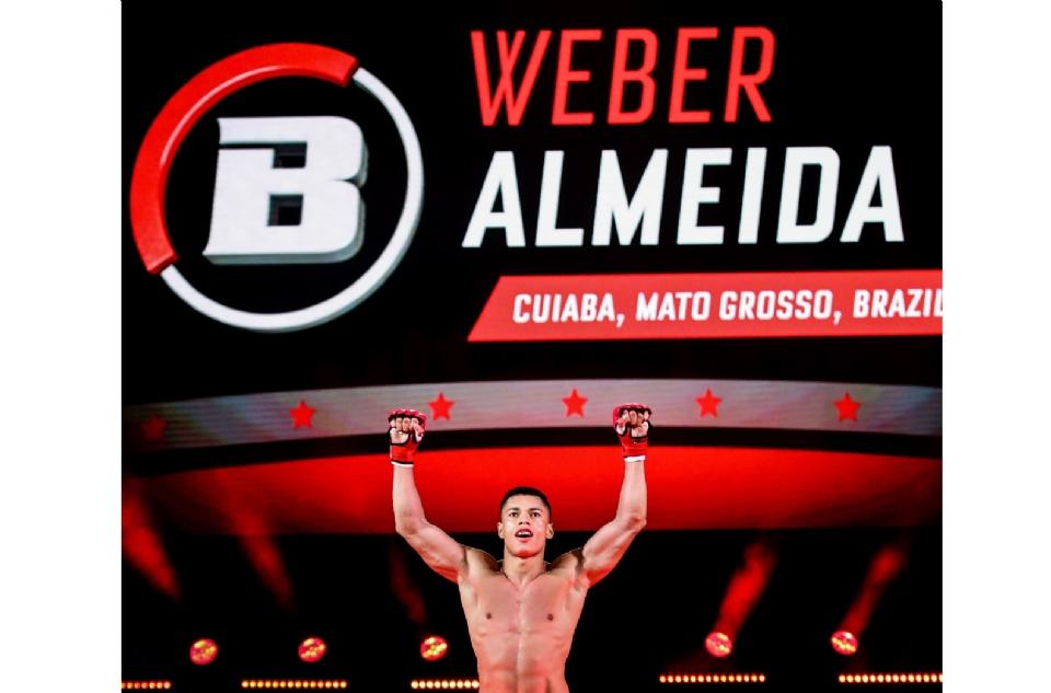 Invicto, lutador cuiabano busca quarta vitória na segunda maior organização de MMA do mundo