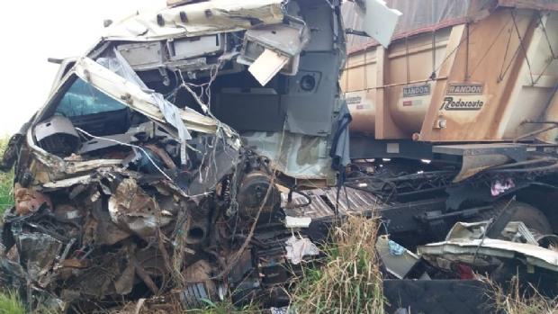 Motorista morre em acidente entre três veículos na BR-163; 11 óbitos em menos de 48h