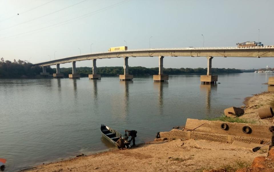 Nível do Rio Paraguai em Mato Grosso está abaixo do normal e situação preocupa