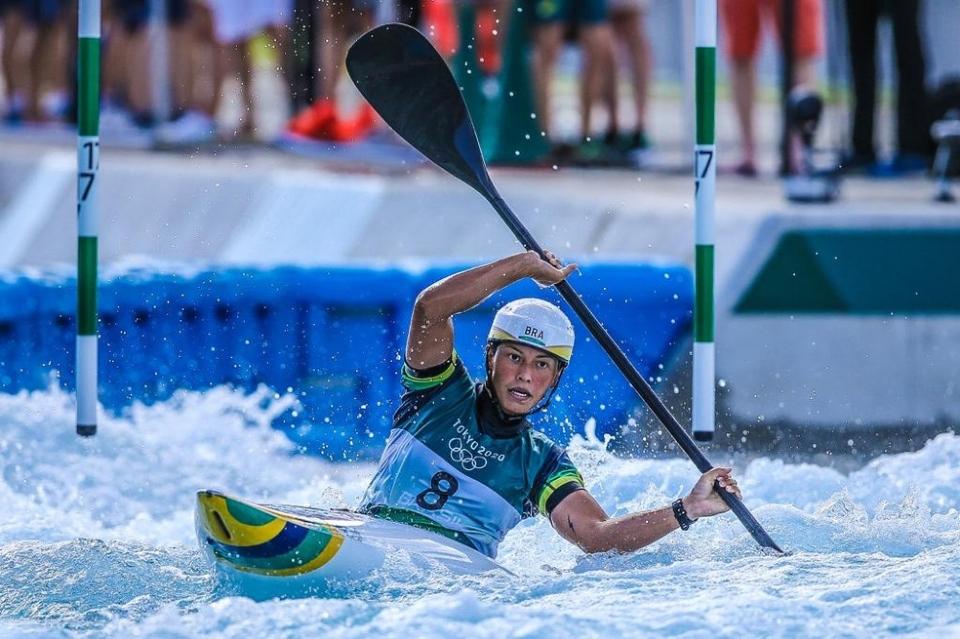 De MT, Ana Sátila consegue melhor posição brasileira na canoagem slalom mas cai na semifinal do K1