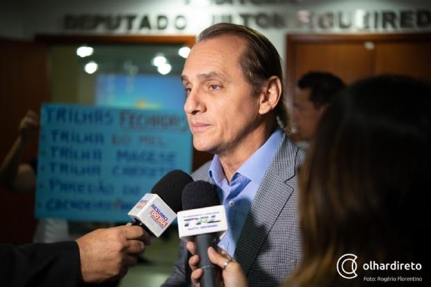 Em defesa de Taques, Wilson Santos traça linha do tempo para rebater delação de Alan Malouf