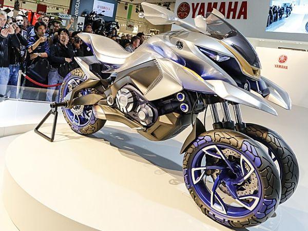Yamaha cria moto futurista com 3 rodas para todos os terrenos
