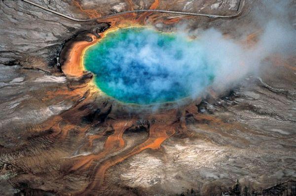 A Grande Fonte Prismática, que tem as cores do arco-íris