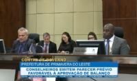Conselheiros apreciam contas de Governo de Primavera do Leste
