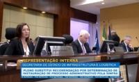 Pleno substitui recomendação por determinação de instauração de processo administrativo pela Sinfra