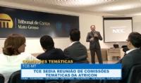 TCE sedia reunião de comissões temáticas da Atricon