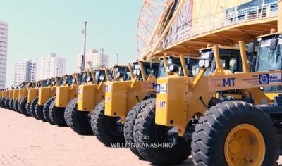 Governo de MT entrega Máquinas e equipamentos para Agricultura Familiar e Infraestrutura