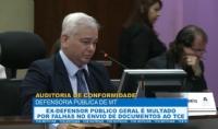 Ex-defensor público geral é multado por falhas no envio de documentos ao TCE