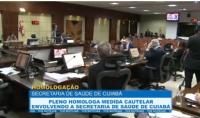 Pleno homologa medida cautelar envolvendo a secretaria de Saúde de Cuiabá