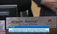 Alisson Carvalho de Alencar é empossado procurador-geral de contas para biênio 2019/2020
