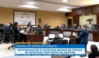 Determinação é afastada depois de pedido de rescisão por gestor de Barra do Garças