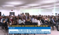 TCE sedia 6º Encontro de Gestores de RPPS de Mato Grosso