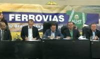 Seminário debate a construção de ferrovias em Mato Grosso