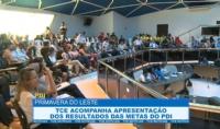 TCE acompanha apresentação dos resultados das metas do PDI, em Primavera do Leste