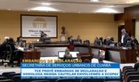 TCE provê embargos de declaração e homologa medida cautelar envolvendo a Ecopav