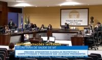 TCE julga procedentes representações contra Secretaria de Saúde de MT