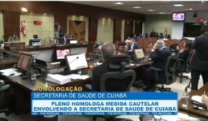 Pleno homologa medida cautelar envolvendo a secretaria de Saúde