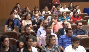 Técnicos do TCE e fiscalizados se reúnem para discutir as alterações no sistema Aplic
