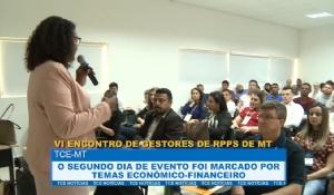 Encontro de Gestores apresenta panorama sobre os RPPS nos municípios e estado