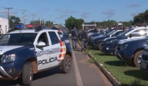 Forças da segurança deflagram operação para combate ao crime
