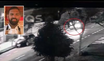 Vídeo mostra cozinheiro sendo morto por motociclista no meio da rua