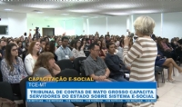 TCE capacita servidores do estado sobre sistema e-Social