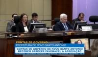 Contas de governo de Novo Santo Antonio recebem parecer favorável a aprovação